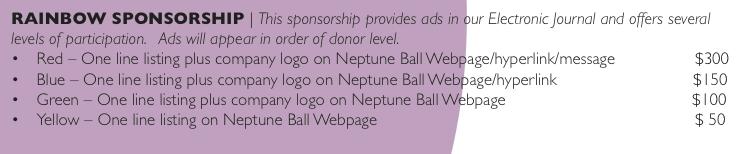 Rainbow Sponsorship