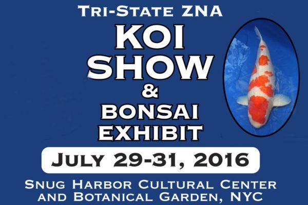 Tri State ZNA 5th Annual Koi Show and Bonsai Exhibit
