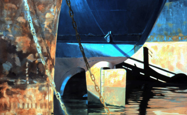Noble Maritime Collection presents a new exhibition, Modern Ruins, Paintings by Anna Held Audette