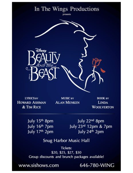 In the Wings Productions Present: The Beauty and the Beast