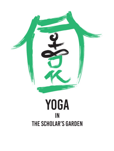 Yoga In The Scholars Garden Logo