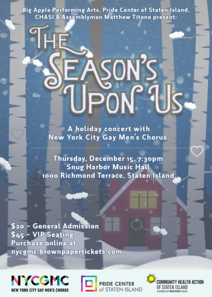 Concert: New York City Gay Men's Chorus @ The Music Hall