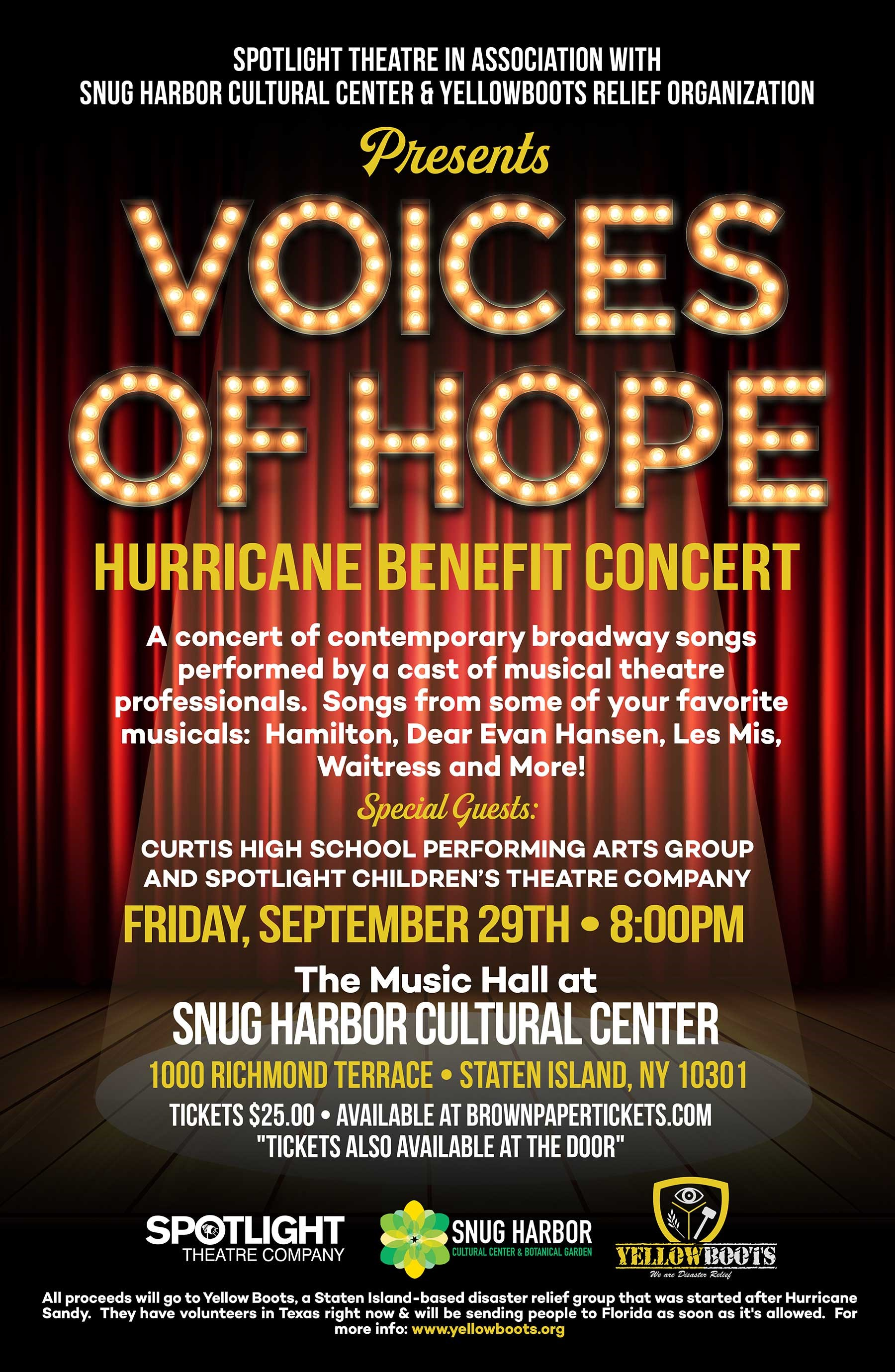 Voices of Hope @ Music Hall (Building T)