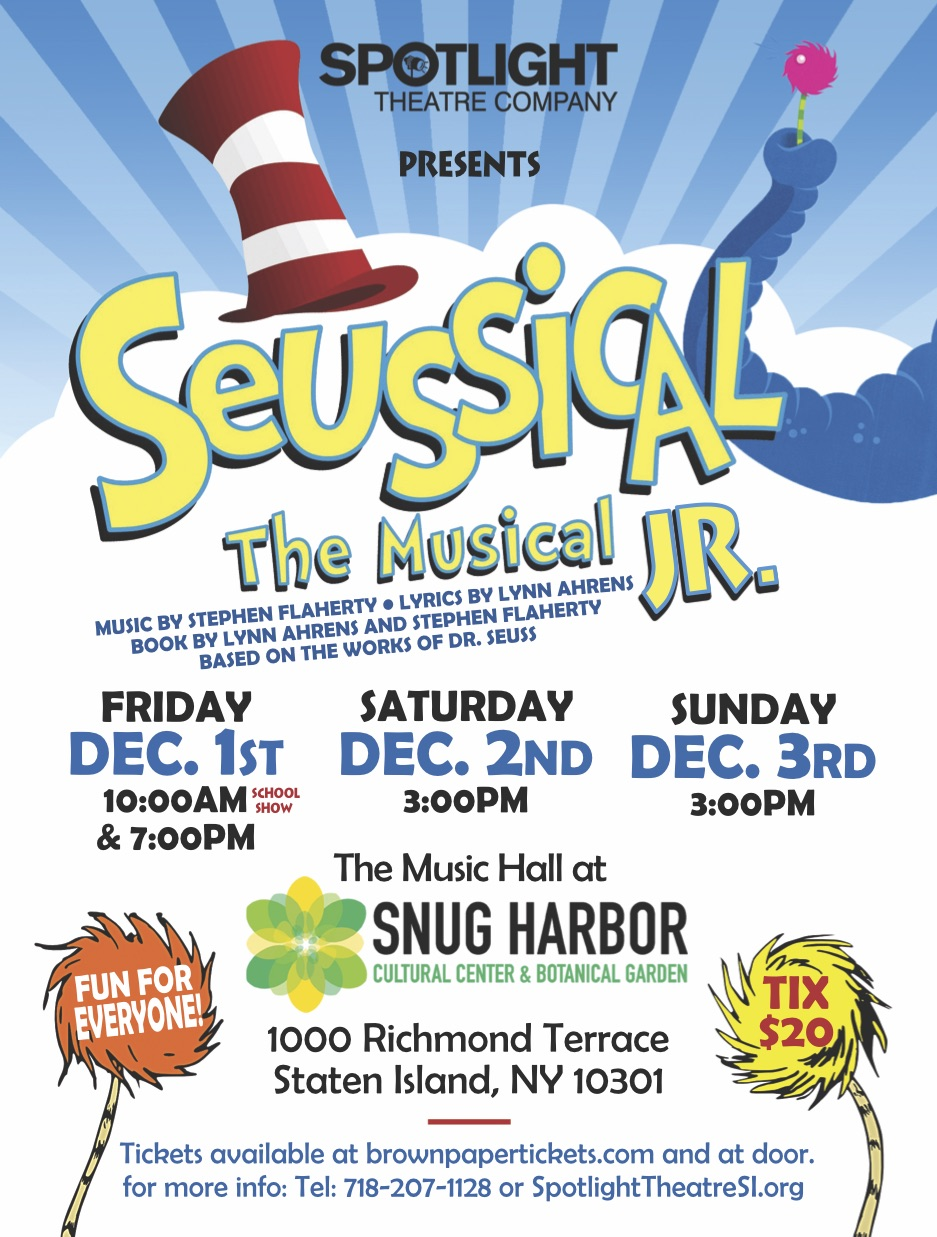 Spotlight Theatre Company: Seussical the Musical, Jr.