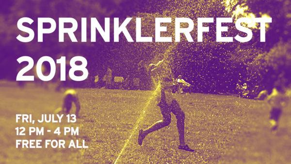 Sprinklerfest 2018