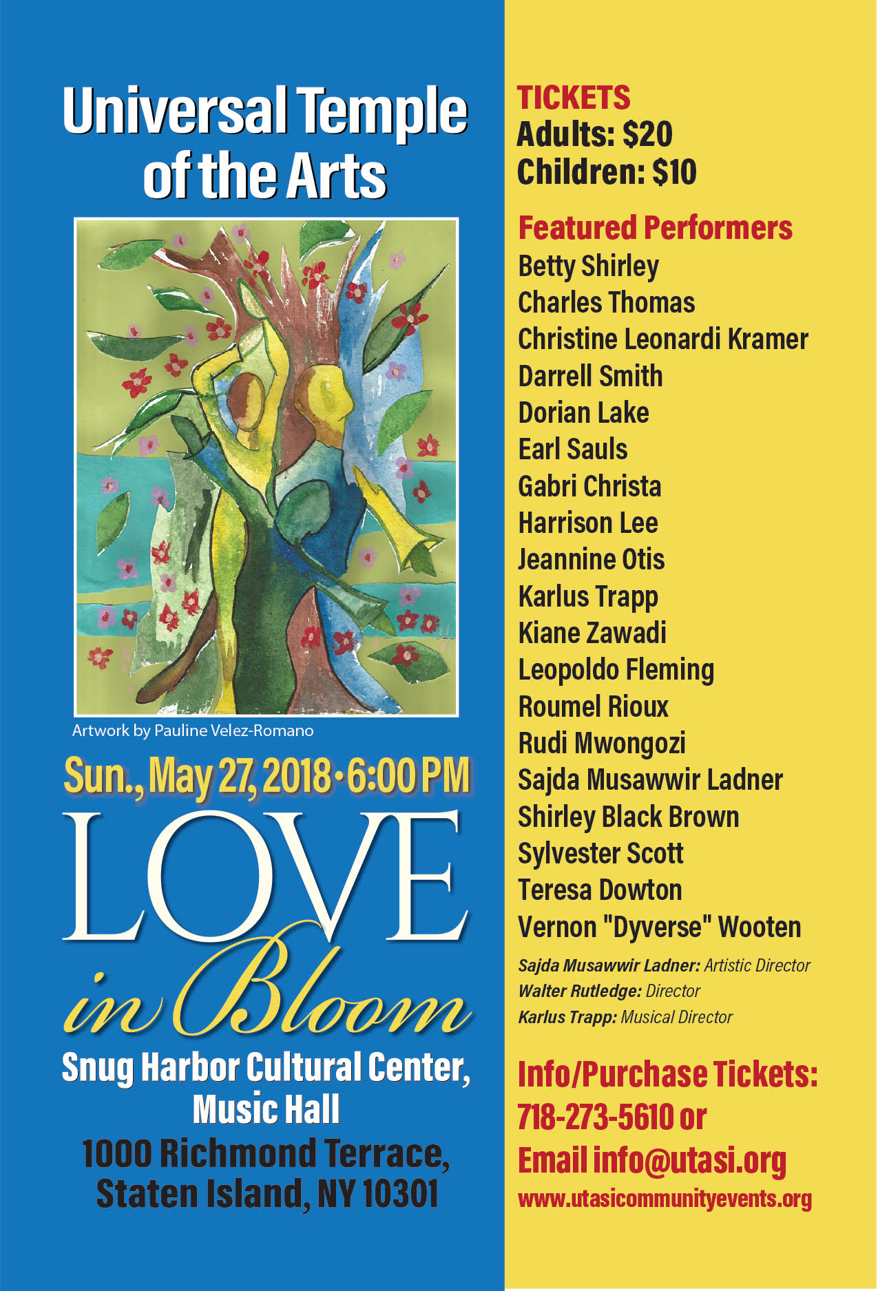 UTA Presents: Love in Bloom