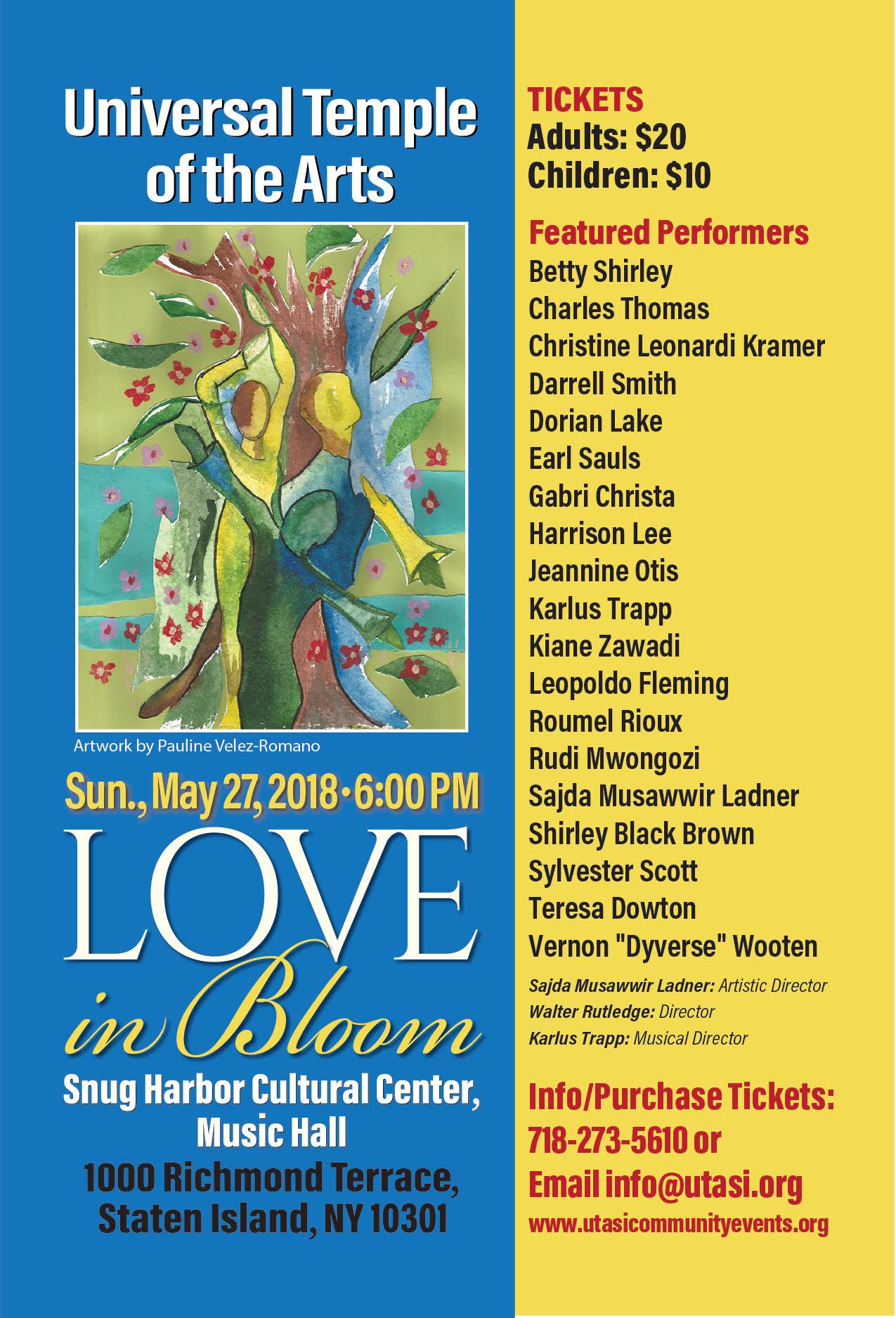 UTA Presents: Love in Bloom