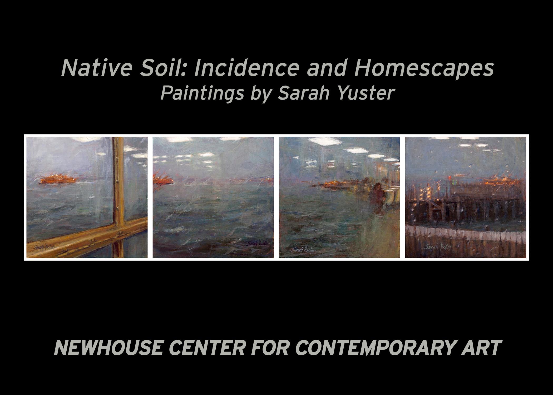 Native Soil: An Artist Talk with Sarah Yuster
