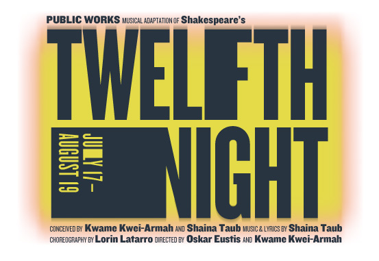 Public Theater's Shakespeare in the Park: Free Ticket Giveaway for Twelfth Night