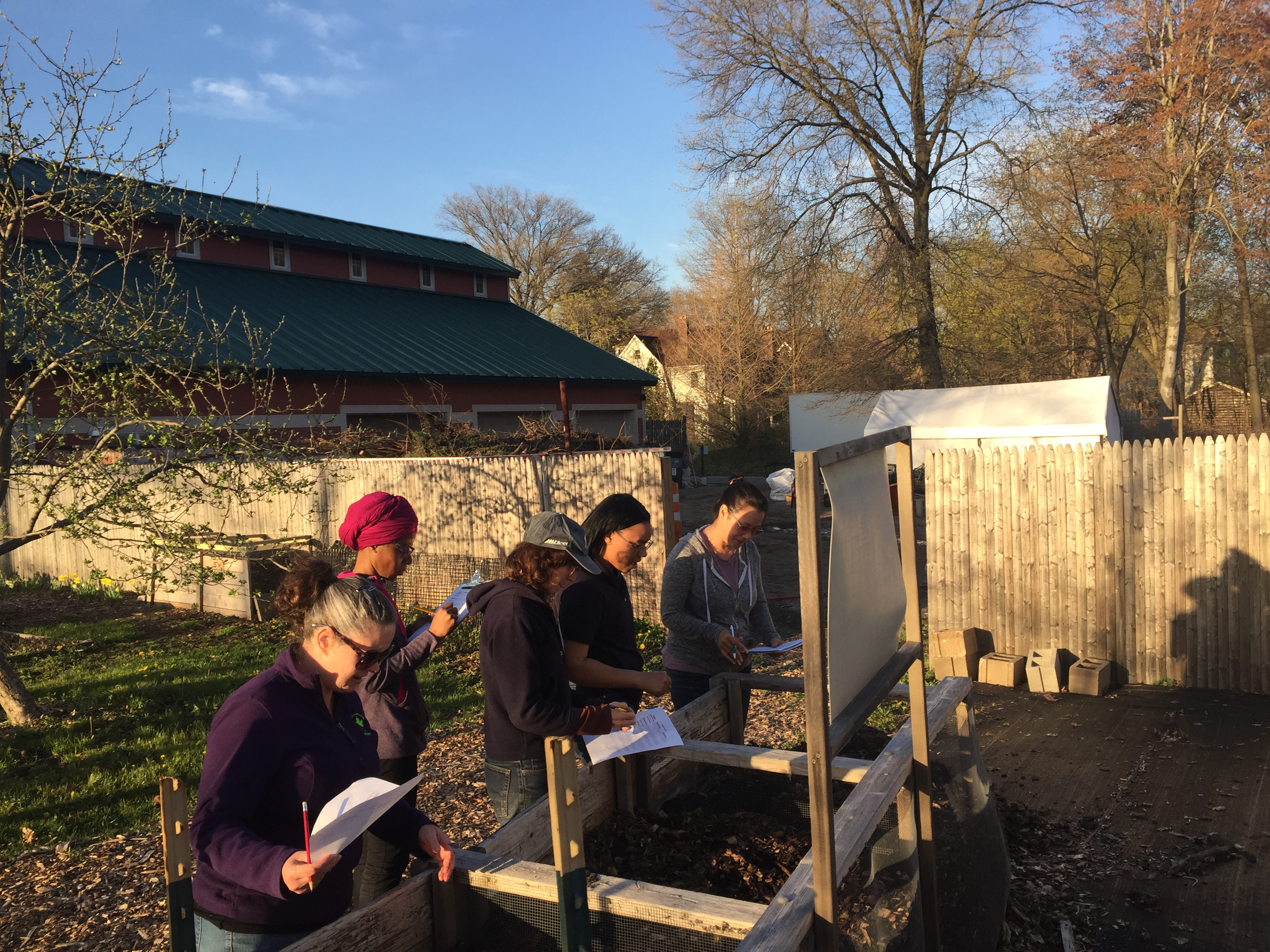 Soil Food Web Workshop (NYC Compost Project)