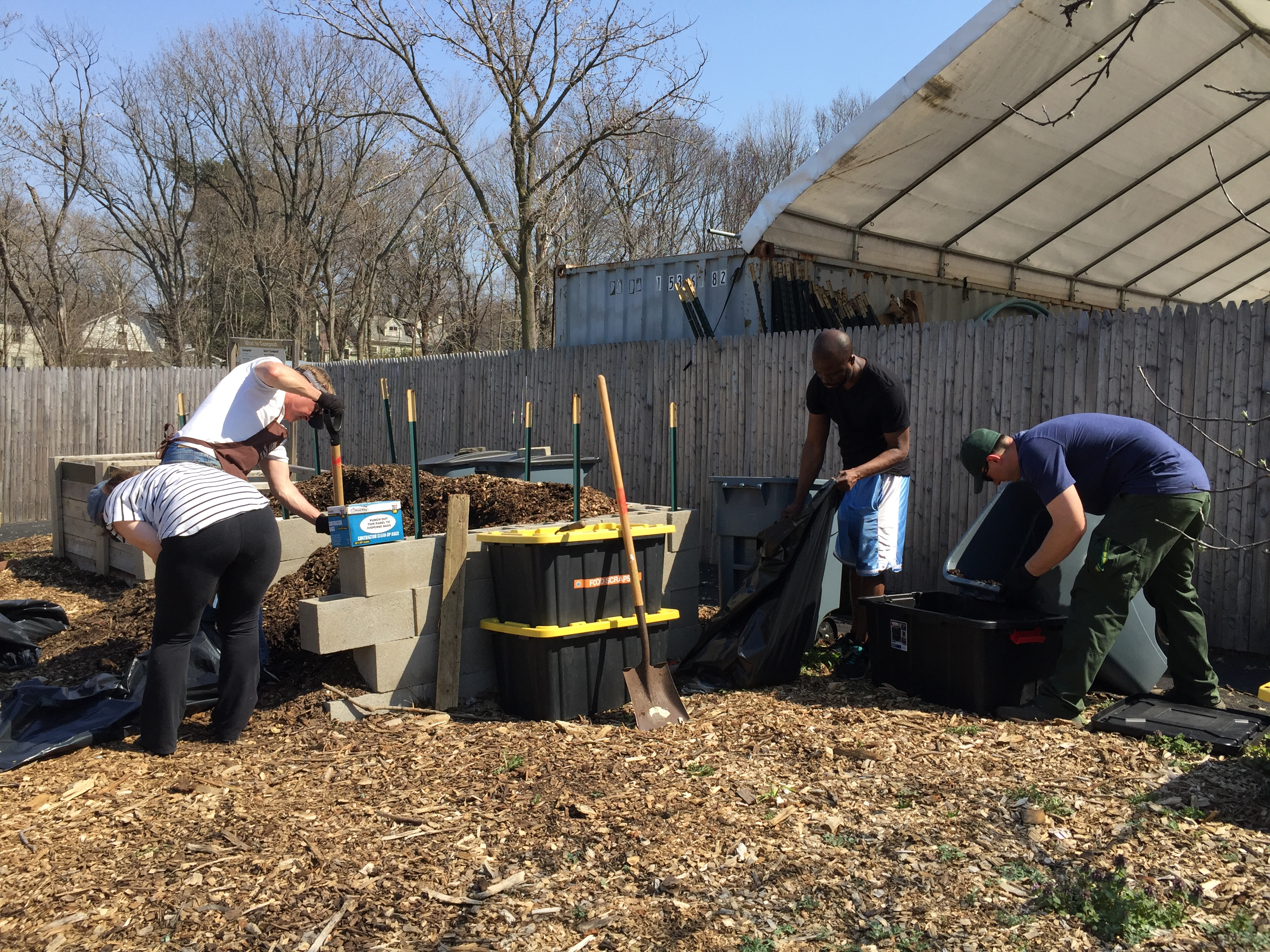 Turn & Learn Compost Work Day (NYC Compost Project)