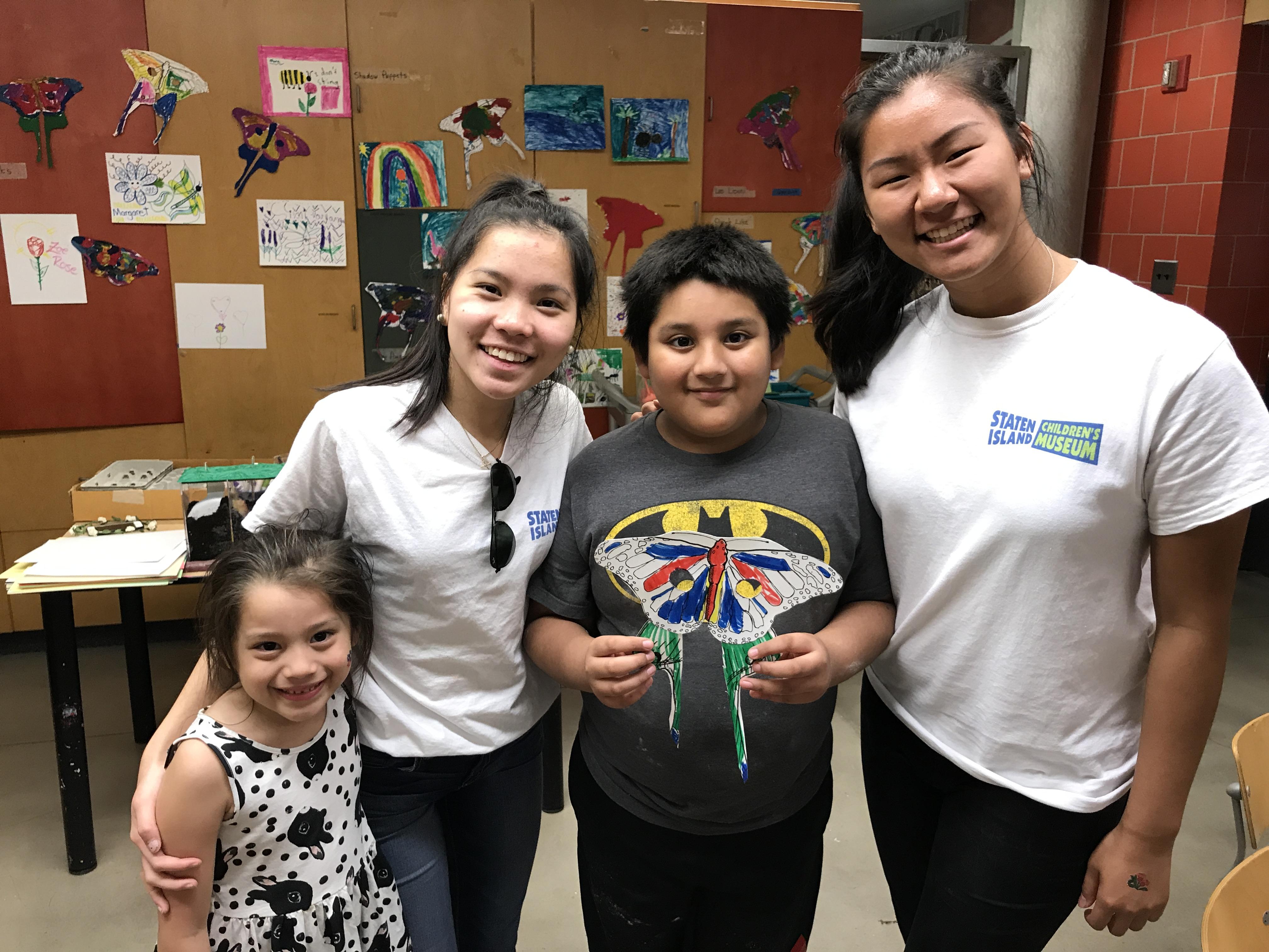Staten Island Children's Museum: Meet the High School Interns!