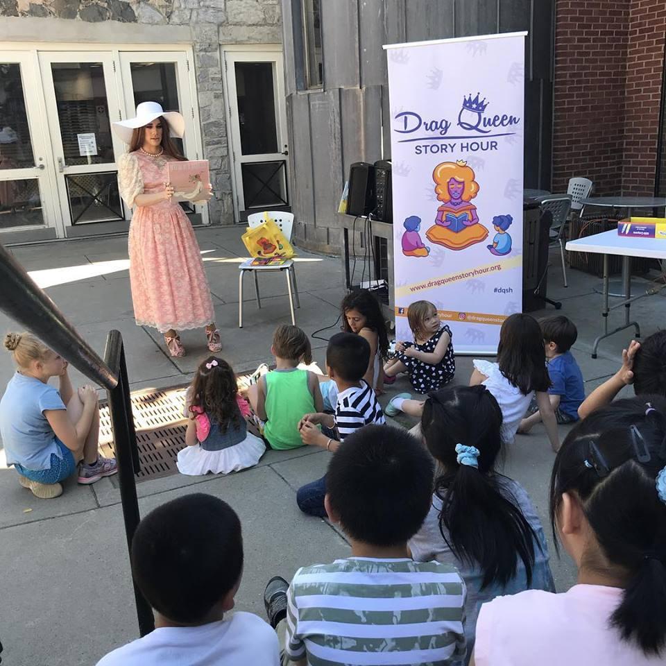 Staten Island Children's Museum: Drag Queen Story Hour