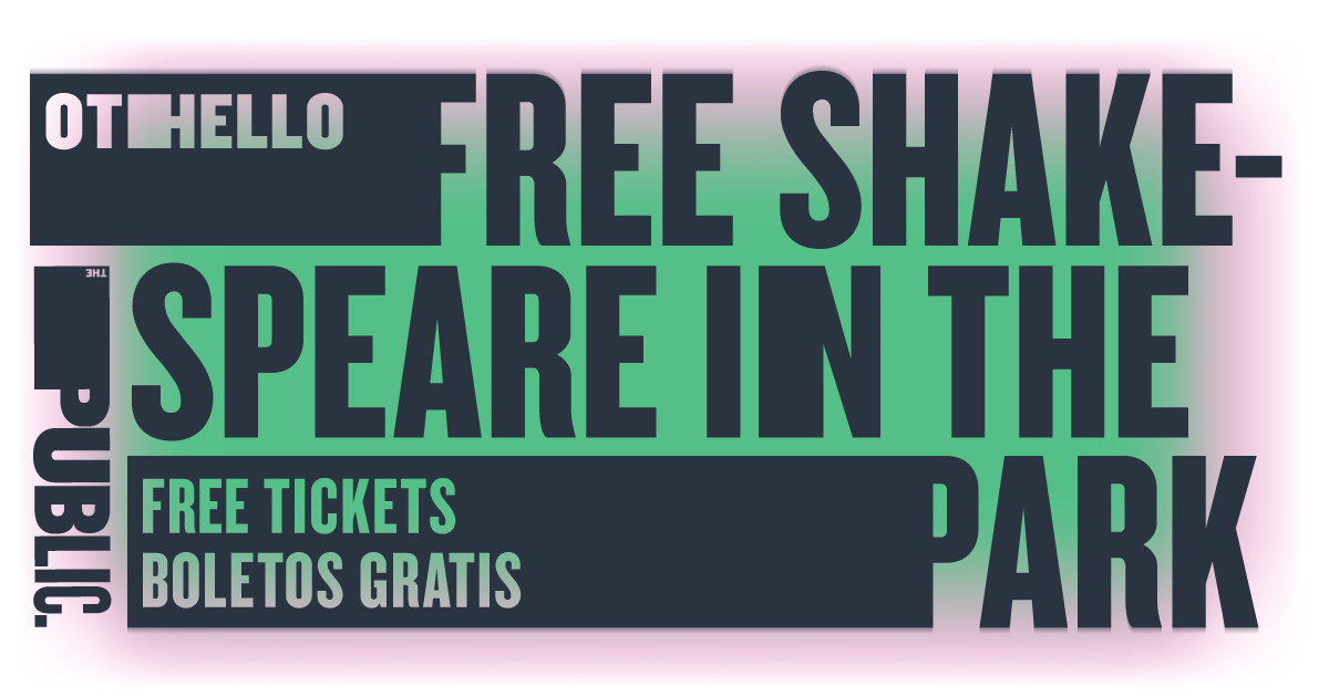 Public Theatre's Shakespeare in the Park: Free Ticket Giveaway for Othello