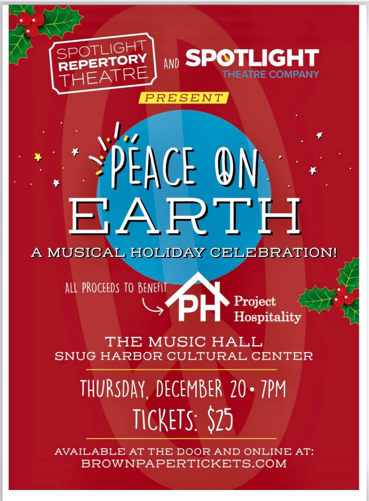 Spotlight Theatre Company Presents: Peace on Earth
