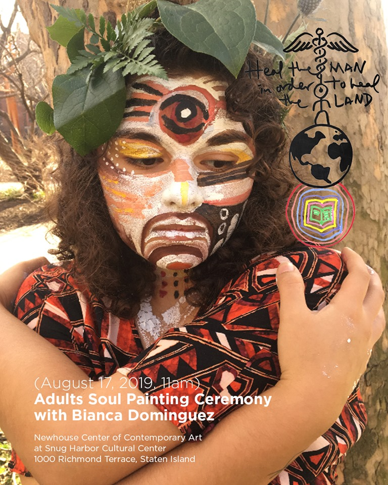 Heal the Man in order to Heal the Land: Adults Soul Painting Ceremony with Bianca Dominguez