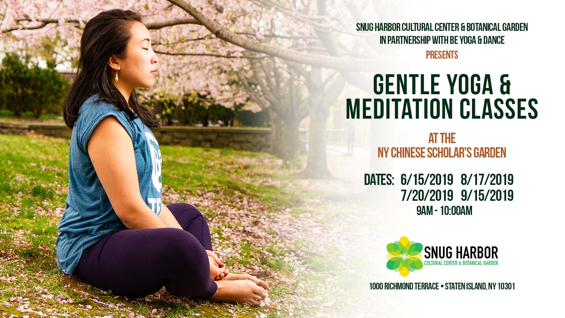 Gentle Yoga & Meditation Classes with BE Yoga