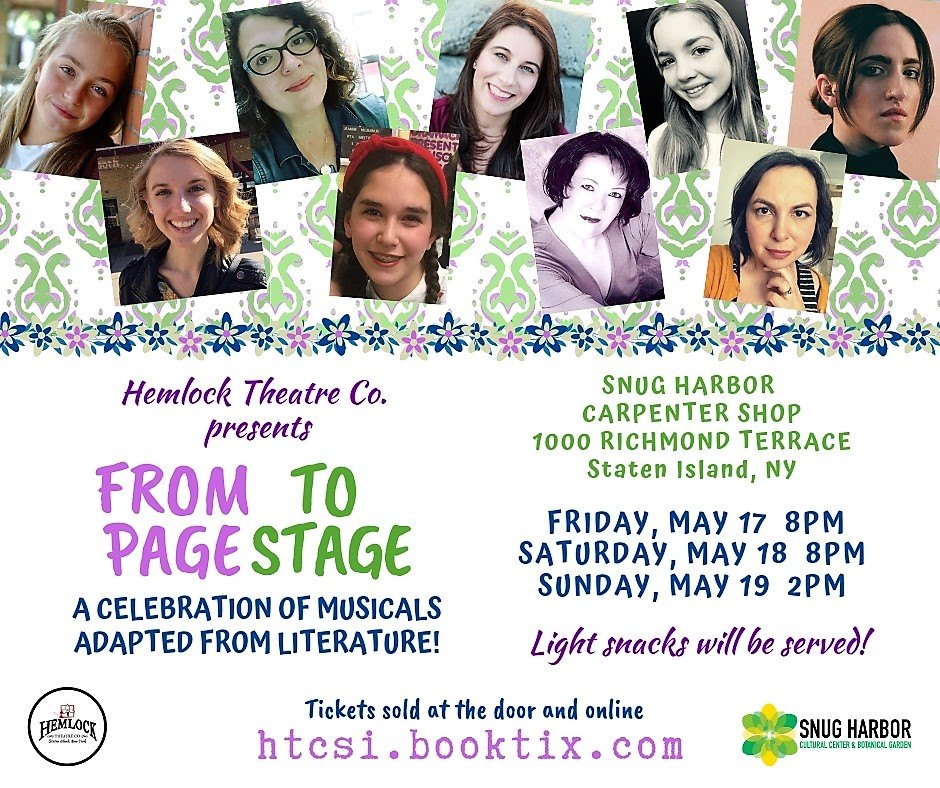 Hemlock Theatre Co. presents: From Page to Stage!
