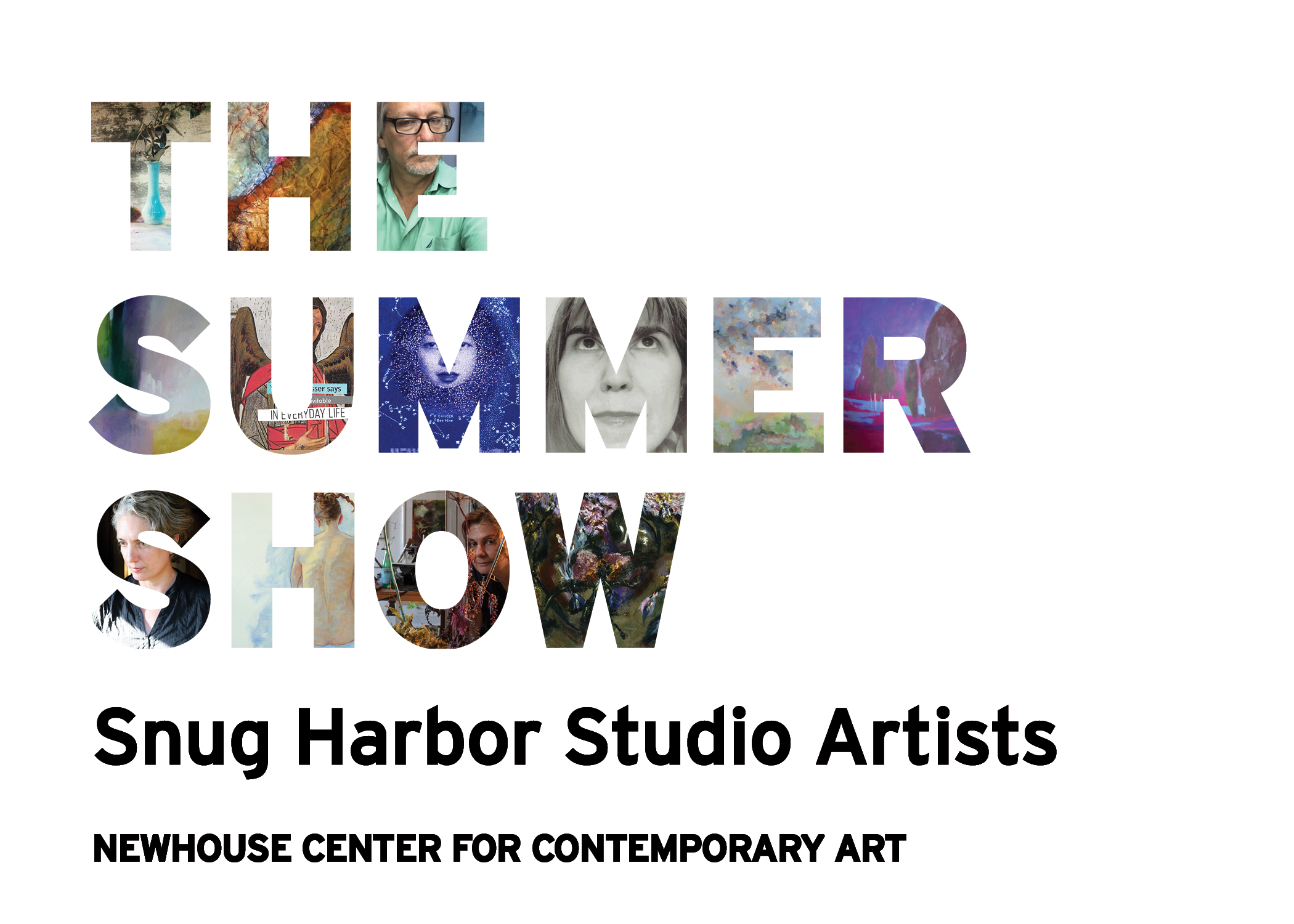 Opening Reception for The Summer Show: Snug Harbor Studio Artists