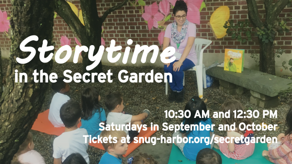 Storytime in the Secret Garden: If You Take a Mouse to School | 10:30 AM