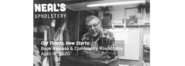 POSTPONED: Old Timers, New Starts: Book Release and Community Roundtable