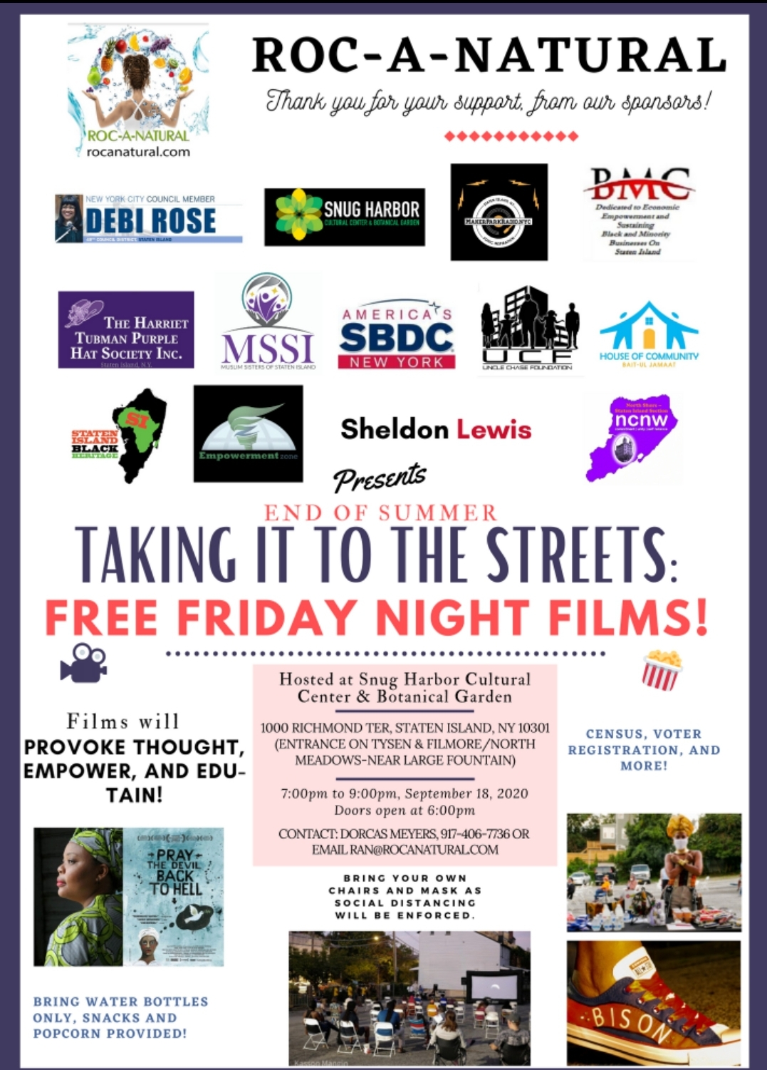 Taking it to the Streets: Free Friday Movies | Pray the Devil Back to Hell