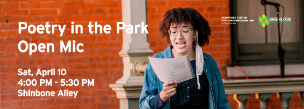 Poetry in the Park Open Mic