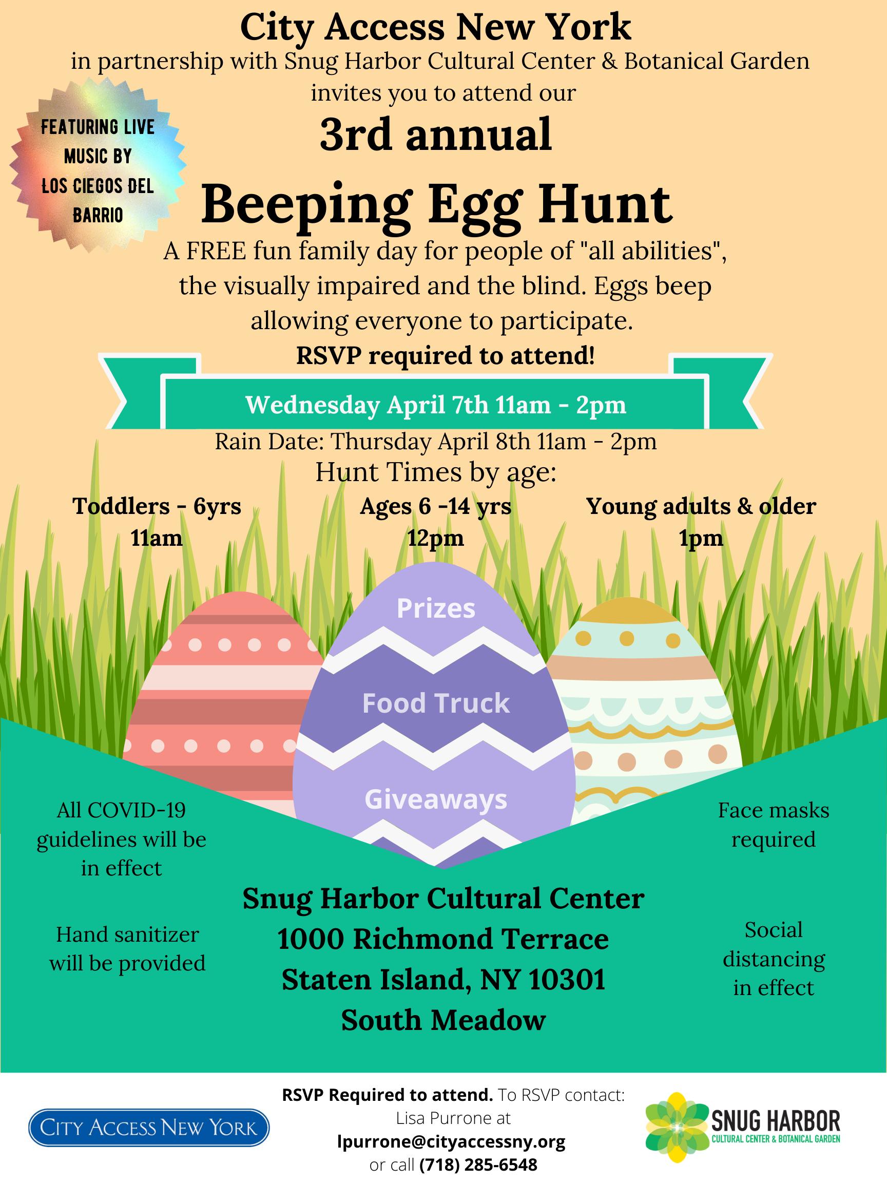 City Access Presents: Beeping Egg Hunt