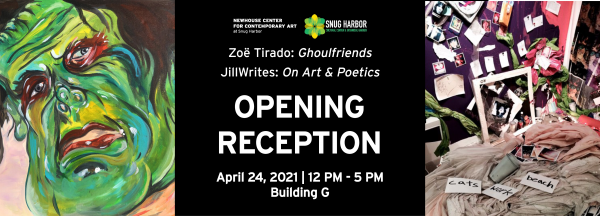 Opening Day: Newhouse Center Spring 2021 Exhibitions