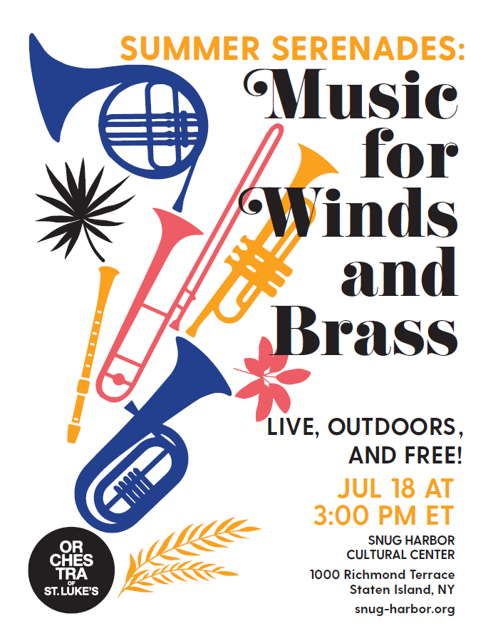 Orchestra of St. Luke's presents: Music for Winds and Brass